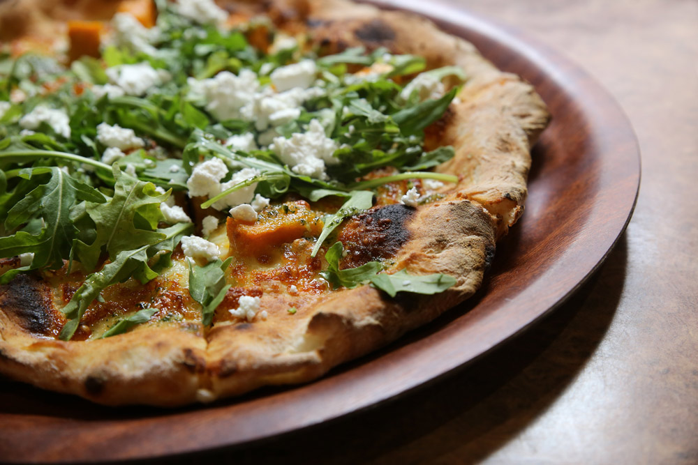 ROAST PUMPKIN & FETA PIZZA - Auzure Canola Oil