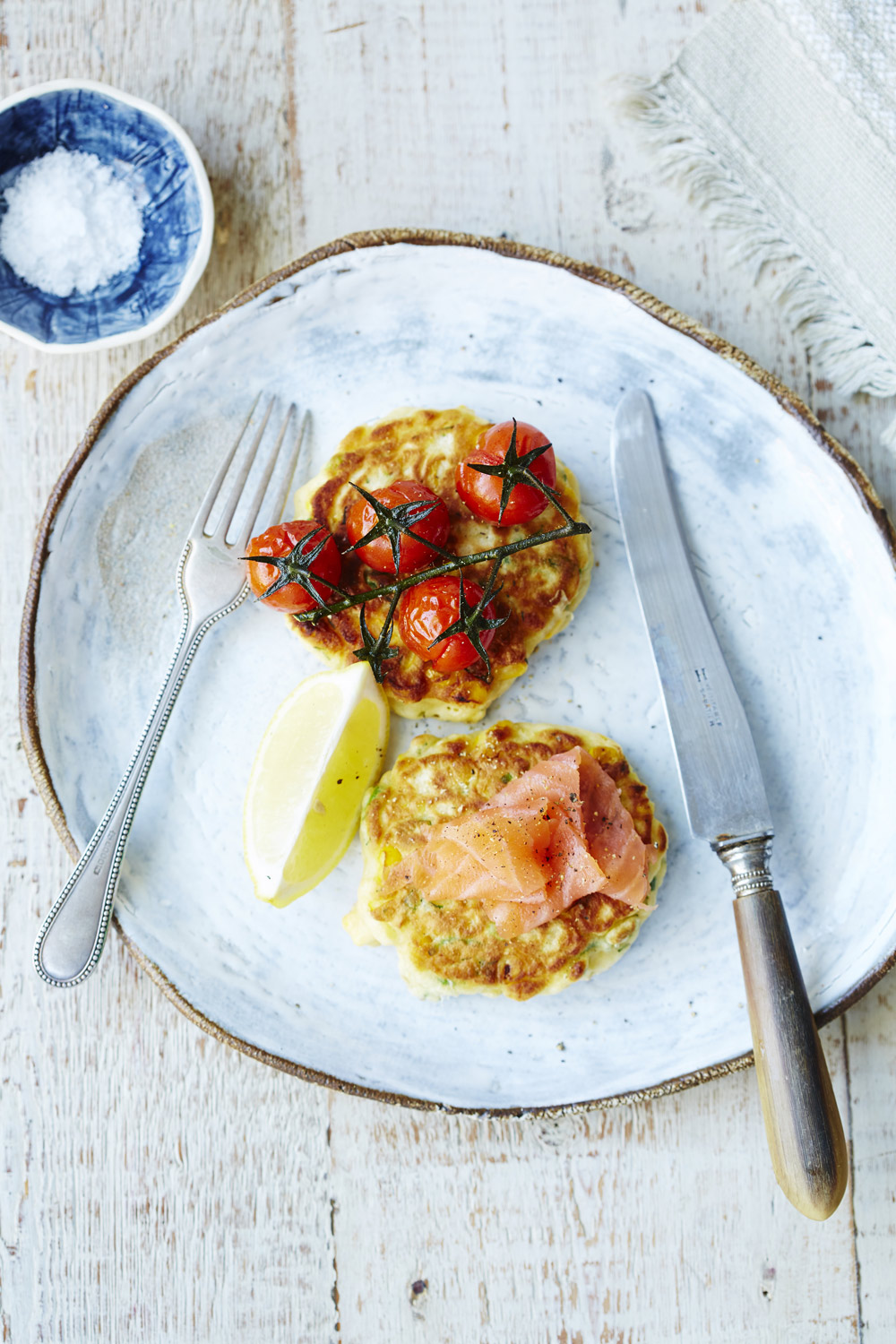 SWEETCORN & DILL FRITTERS - auzure Canola Oil