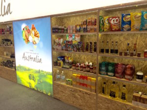 auzure Australian locally pressed Canola Oil at Gulfood 2017